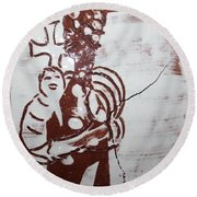 Lord Bless Me 8 - Tile Round Beach Towel