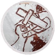 Lord Bless Me 9 - Tile Round Beach Towel