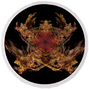 Lord Of The Flies Round Beach Towel
