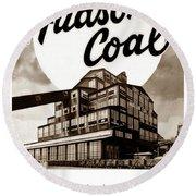 Loree Colliery Larksville Pa. Hudson Coal Co  Round Beach Towel