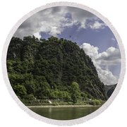Loreley Rock 10 Round Beach Towel