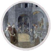 Lorenzetti: Good Govt Round Beach Towel