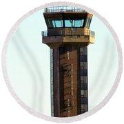 Loring Air Base Tower Round Beach Towel
