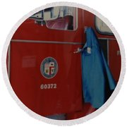 Los Angeles Fire Department Round Beach Towel