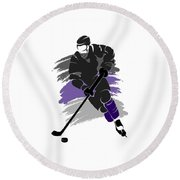 Los Angeles Kings Player Shirt Round Beach Towel
