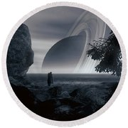 Lost But Not Forgotten Round Beach Towel