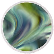 Lost In The Moment Round Beach Towel