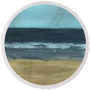 Lost In Time Round Beach Towel