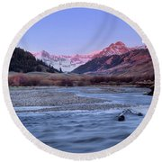 Lost River Range Round Beach Towel