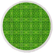 Lots Of Luck Round Beach Towel