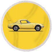 Lotus Elan 1963 Round Beach Towel
