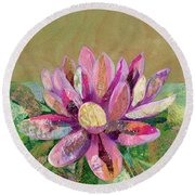 Lotus Series II - 2 Round Beach Towel