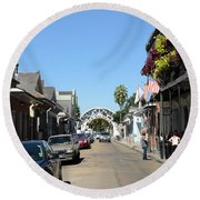Louis Armstrong Park - Straight Ahead - New Orleans Round Beach Towel
