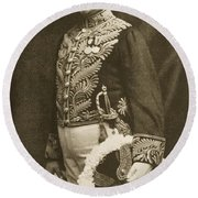 Louis Botha 1862-1919 South African Round Beach Towel