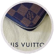 Louis Vuitton Round Beach Towel