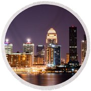 Louisville 1 Round Beach Towel