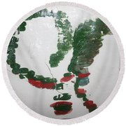 Love Abounds - Tile Round Beach Towel