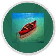 Love Boat Round Beach Towel