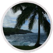Love Is Eternal - Poponi Maui Hawaii Round Beach Towel