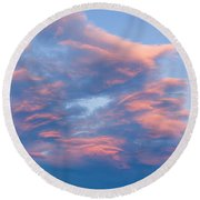 Love Shack Sunset Round Beach Towel