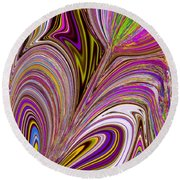 Lovely As Ever Round Beach Towel