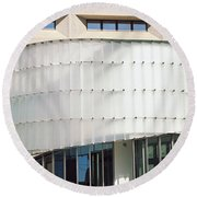 Low Angle View Of A Building, Dr. A. H Round Beach Towel