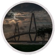 Lowcountry Grace Round Beach Towel