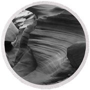 Lower Antelope Canyon 2 7843 Round Beach Towel