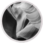 Lower Antelope Canyon 2 7875 Round Beach Towel