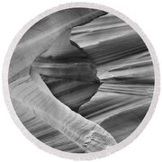 Lower Antelope Canyon 2 7888 Round Beach Towel