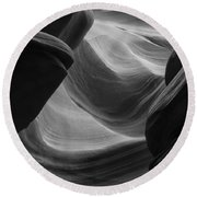 Lower Antelope Canyon 2 7902 Round Beach Towel