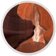 Lower Antelope Canyon 2 7912 Round Beach Towel