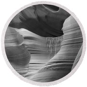 Lower Antelope Canyon 2 7934 Round Beach Towel