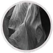Lower Antelope Canyon 2 7946 Round Beach Towel