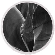 Lower Antelope Canyon 2 7968 Round Beach Towel