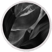 Lower Antelope Canyon 2198 Round Beach Towel