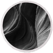 Lower Antelope Canyon 2217 Round Beach Towel