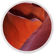 Lower Antelope Canyon 7724 Round Beach Towel