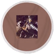 lrs Lee Alan Proud Oneofthe Clearing Alan Lee Round Beach Towel