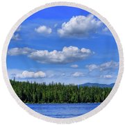 Luby Bay View Round Beach Towel
