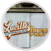 Lucille's Round Beach Towel