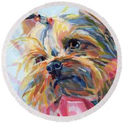 Lucy In The Sky Round Beach Towel