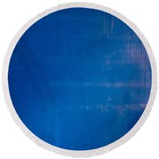 Lurking Shadow Round Beach Towel