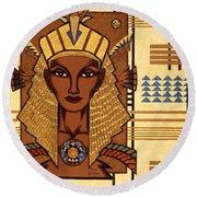Luxor Deluxe Round Beach Towel by Tara Hutton