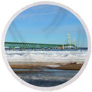 Mac Round Beach Towel