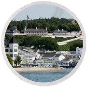 Mackinac Island Round Beach Towel