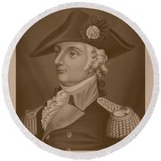 Mad Anthony Wayne Round Beach Towel by War Is Hell Store