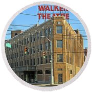 Madame Walker Theater, Indianapolis Round Beach Towel