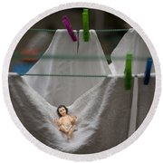 Made In China Baby Jesus Round Beach Towel