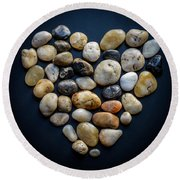 Made Of Stone Round Beach Towel